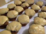 Red Velvet Puffs with Espresso Frosting