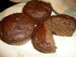 Chocolate Flax Muffins