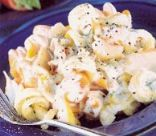 Creamy Pasta with Smoked Haddock and Dill