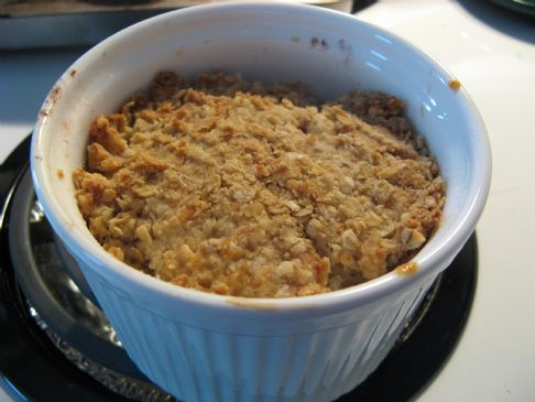 Apple Crisp for One