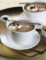 Spiced Soy Hot Chocolate