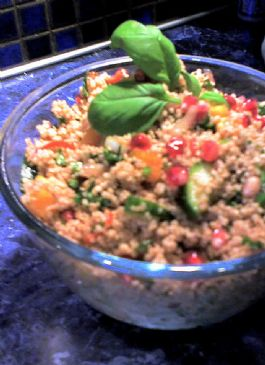Couscous Salad with Mango and Pomegranates