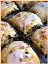 Chocolate Chip Fiber One Scones