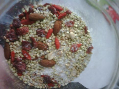 Raw Buckwheat & Coconut Cereal (Raw, and Gluten Free)