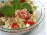 Lemony Couscous With Mint, Dill and Feta